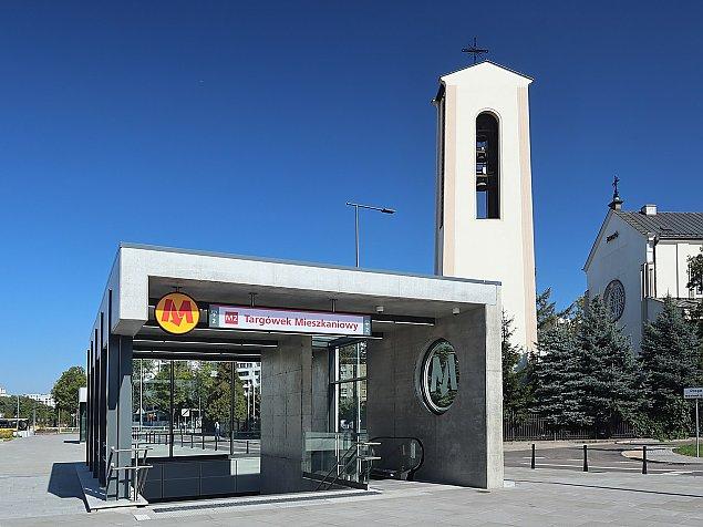 Jak metro zmieniło Targówek? Prawie pięć milionów przejazdów