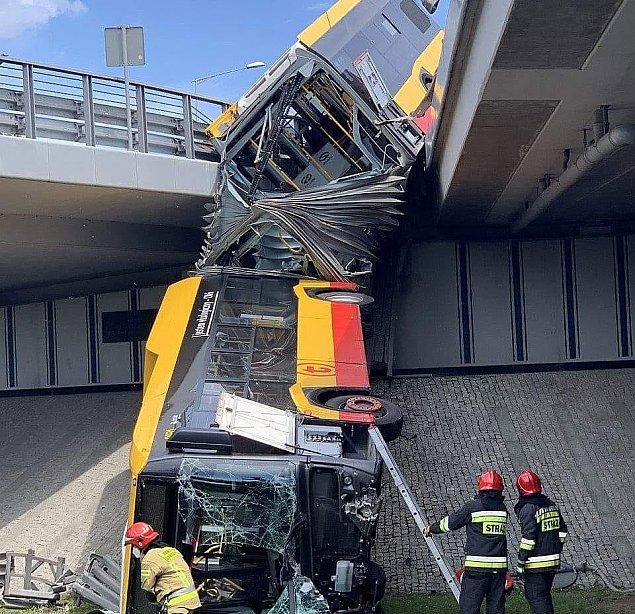 Kierowca z mostu Grota wychodzi z aresztu