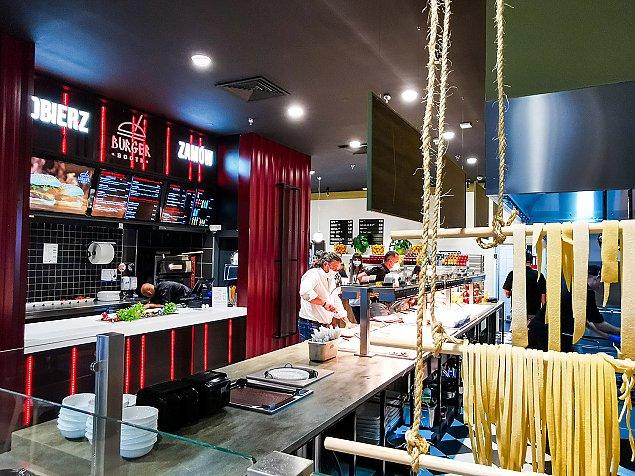 Nowe restauracje w Galerii Pó³nocnej. Strefa Food Hall otwarta