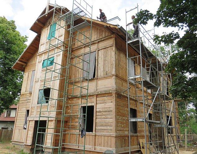 ¦widermajer jak malowany. 120-letni dom w remoncie