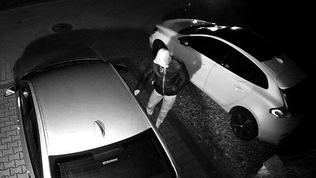 Nocne kradzie¿e na parkingach. Trwa walka ze z³odziejami