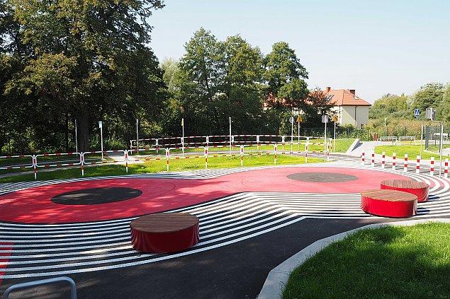 Nowa atrakcja dla dzieci. Mamy miasteczko ruchu drogowego