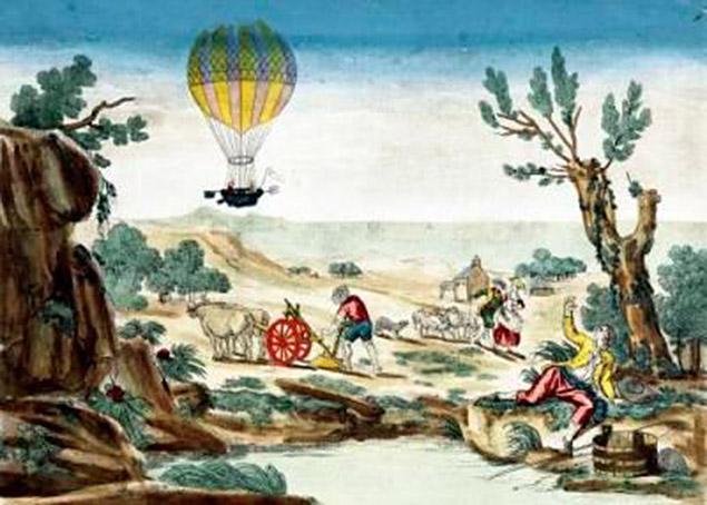 Na Bia³o³êce 200 lat temu. Historyczny lot balonem