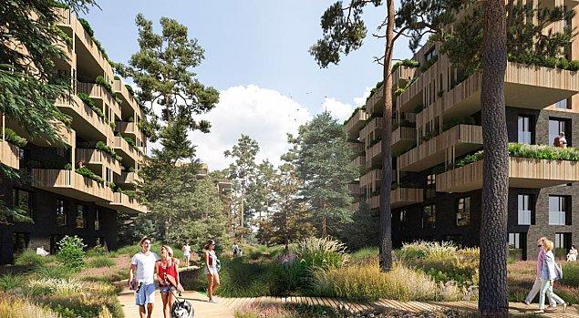 Nowe centrum Miêdzylesia. Dom Development zbuduje bloki obok Ferio