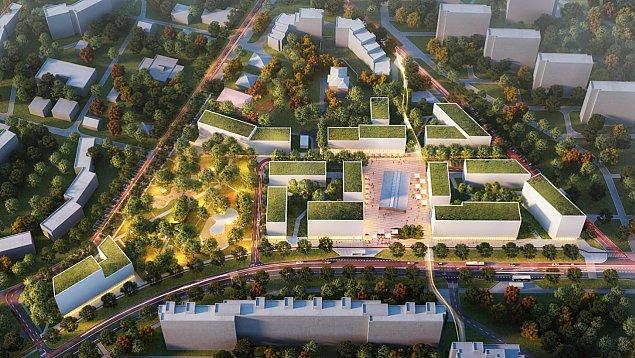 """""""Nowy Rynek Chomiczówki"""". Planuj± ponad 500 mieszkañ"""