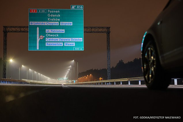 """Most i obwodnica otwarte. """"Ograniczenie prêdko¶ci do 100 km/h"""""""
