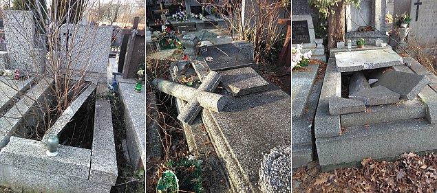 Dziesi±tki zniszczonych grobów na Bródnie. Co siê sta³o?