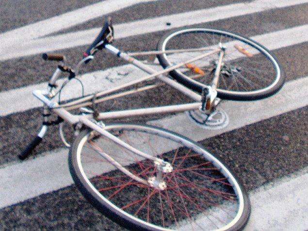 Pijany rowerzysta cudem unikn±³ wypadku na ¯ytniej