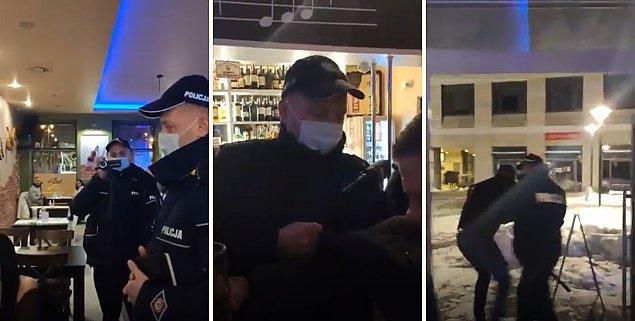 """Legionowska policja si³± wyprowadzi³a ludzi z restauracji. """"Jak ZOMO w stanie wojennym"""""""