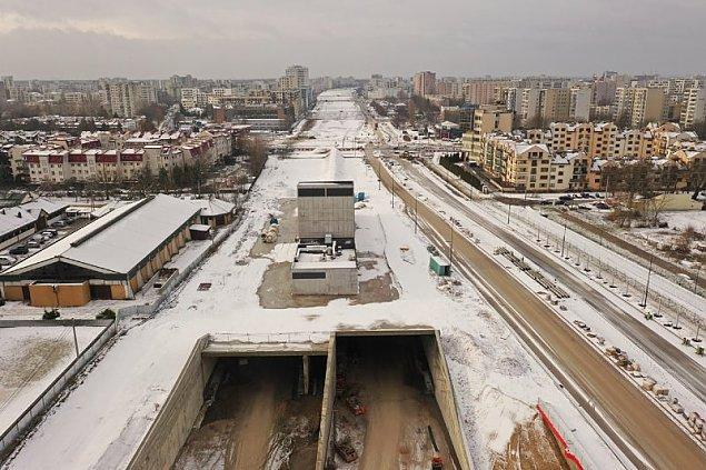 Tunel pod Ursynowem znów opó¼niony? Dokoñczenie S2 siê oddala