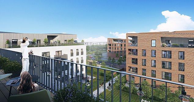 Rusza du¿a inwestycja. Prawie 600 mieszkañ przy Lazurowej