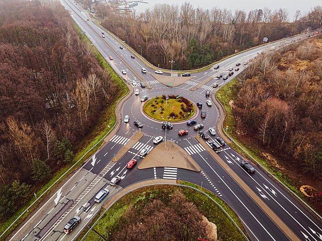 Dwupoziomowy wêze³ drogowy zamiast ronda w Zegrzu?