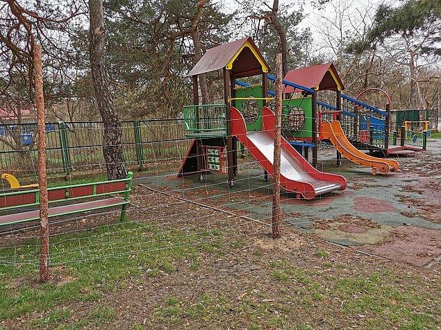Dlaczego plac zabaw w Falenicy jest zamkniêty?