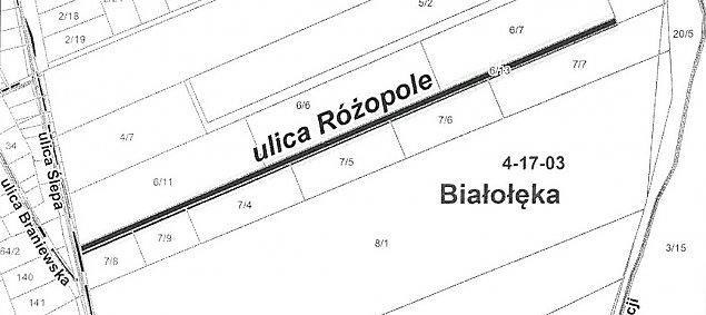 Nowa nazwa na Bia³o³êce. Co to jest Ró¿opole?