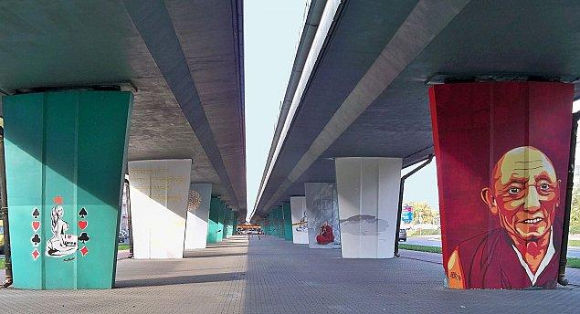 """Nowy pomys³ na wiadukty Prymasa. """"Ro¶liny zamaskowa³yby beton"""""""