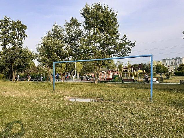 Problemy w parku Górczewska. Boiska koliduj± z planowanym placem zabaw