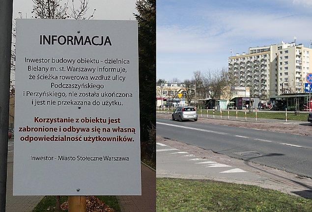 """Piêæ lat temu ZDM obieca³ remont trzech ulic. """"Bielany nie s± zapomniane"""""""