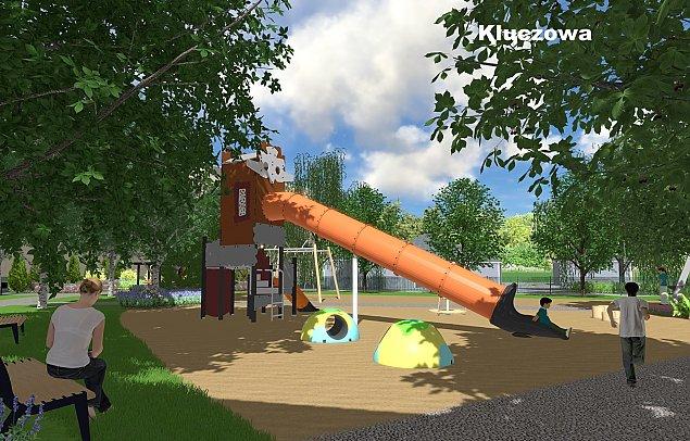 Nowe place zabaw dla Chomiczówki
