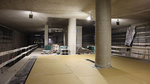 Dzieñ otwarty na budowie metra. Zaprasza stacja Kondratowicza