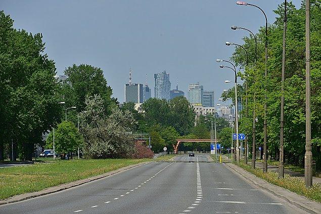 Tramwaj do Wilanowa - zw꿱 jezdnie, zburz± k³adki