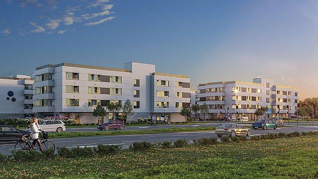 Deweloper zbuduje 200 mieszkañ tu¿ obok przystanku SKM