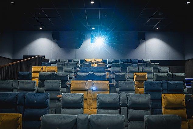 Tak wygl±da najdro¿sze kino w Warszawie. KinoGram ju¿ dzia³a