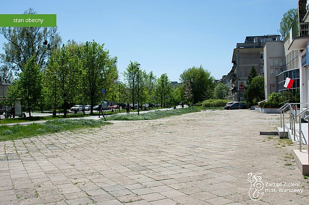 Rusza budowa skweru w centrum Bielan. Bêdzie wiêcej zieleni