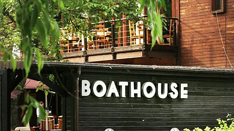 Boathouse - z widokiem na Wis��
