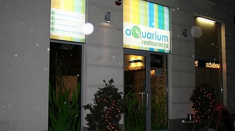 aQuarium - relaks przy posi�ku
