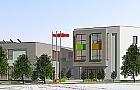 Nowa szko�a i przedszkole w �omiankach, zobacz projekt