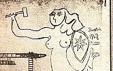 Czy wiesz, �e Picasso namalowa� na Woli Syrenk�?