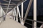 Rowerowy most na �eraniu dopiero w przysz�ym roku