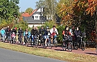 �ladami starej ciuchci na rowerach