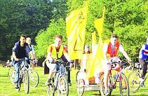 Na rowerkach po Bielanach
