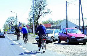 Zielono-niebieska jesieñ na rowerach