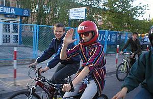 Masa rowerzystów