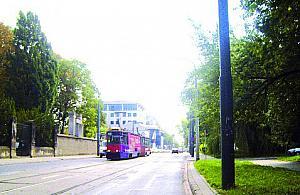 M�ynarska dla tramwaj�w