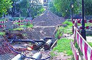 Plac Opolski zn�w zrujnowany