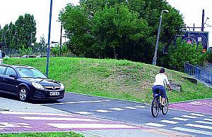 Niebezpiecznie na rowerze