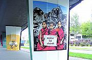 Rondo Tybetu niczym galeria