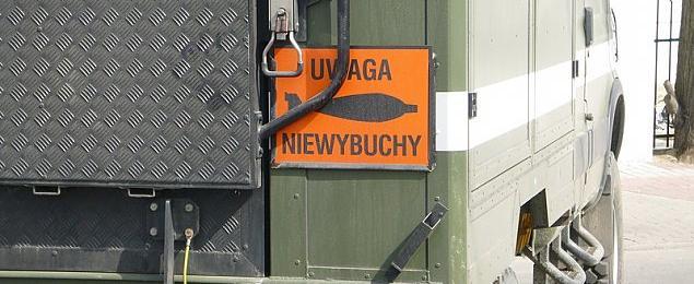 Metrowej wielko¶ci niewybuch przy P³ochociñskiej