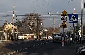 W pi�tek zamykaj� przejazd na Parkowej