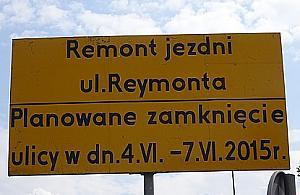 Weekend bez al. Reymonta i �eromskiego