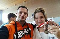 Judoczka z Bia�o��ki na podium