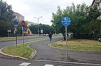 Bubel pieszo-rowerowy w al. Reymonta