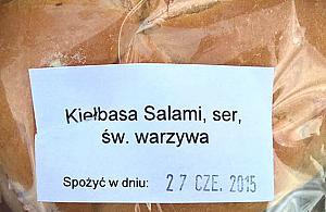 Kanapka ze �wi�tymi warzywami