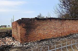 Po�ar stodo�y na P�ochoci�skiej