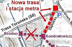 Prawie 3300 podpis�w za metrem przy Trasie Toru�skiej