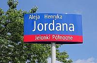 Henryk Jordan ma alejk� w parku G�rczewska