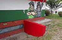 Zamalowali nazistowski znak